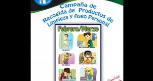 Campaña de recogida de productos de limpieza de SOS Ángel de la Guardia