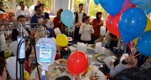 Los niños disfrutaron de un desayuno gracias al Hotel Alfonso XIII / Andex