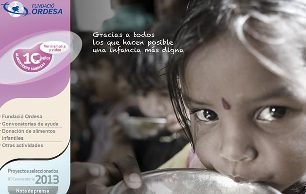 Imagen de la web de la Fundación Ordesa