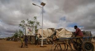 Campo de refugiados gestionado por ACNUR