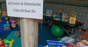 Recreación de un aula del Centro de Estimulación Precoz, en la exposición del Buen Fin