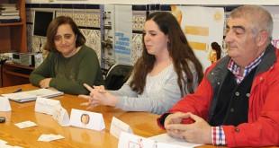 Representantes de la Asociación Dos Hermanas Solidaria / M.BALLESTA