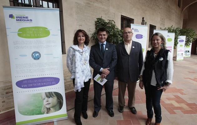 La presentación se ha realizado en el Palacio de los Marqueses de la Algaba donde comenzará la exposición / José Galiana