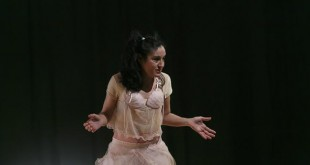 Momento de la actuación ante los alumnos / Fundación Cajasol