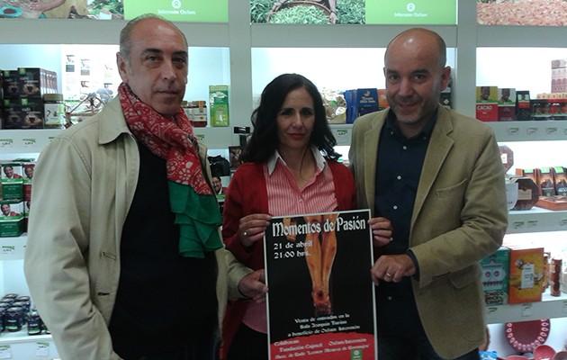 Presentación de «Momentos de Pasión» en la tienda de Comercio Justo / Intermón Oxfam