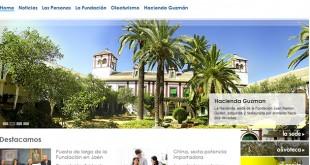 Imagen de la web de la Fundación Juan Ramón Guillén