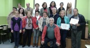 Participantes en los talleres de formación del voluntariado / M.B.