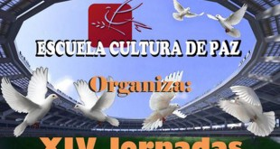 """XIV Jornadas Escuela Cultura de Paz bajo el lema """"Los valores del deporte, la música y el voluntariado""""."""