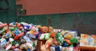 Recogida de alimentos en Bormujos
