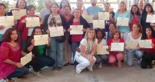 Taller de Inmigración de Cáritas de Santiago en Utrera