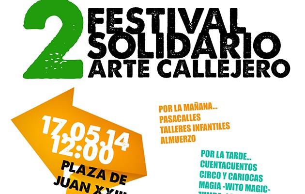 Cartel II Festival Soolidario de Arte Callejero