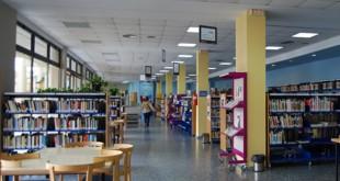 Biblioteca Municipal Pedro Laín Entralgo donde se desarrolla este proyecto / L.M.