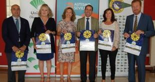 Autismo Sevilla presenta en el Club Naútico el cartel de su XV Gala Benéfica