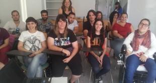Los jóvenes en la apertura de la lanzadera en Sevilla / Acción contra el Hambre