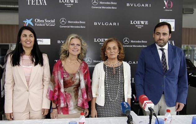 En la imagen, Gabriela Cano, Consul de Colombia; Mercedes Vazquez, Dolores de Pablo y Alberto Olivera / Vanessa Gómez