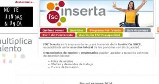 Web de FSC Inserta