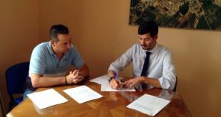 Nuevo convenio del Ayuntamiento de Pilas con Arpial