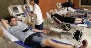 Macrodonación de sangre en Cajasol