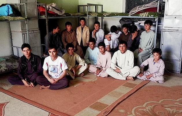 Orfanato en Afganistán