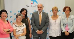 La asociación rinconera «Ciudadana de Ayuda al Toxicómano» firma un convenio con La Caixa