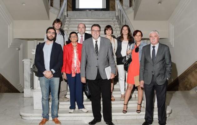 La Rinconada tiene presencia en el Senado en una jornada sobre cooperación internacional