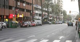 Avenida República Argentina / Foto: J.M. Serrano