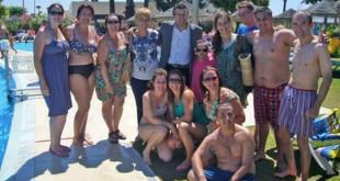 Días de diversión en Islantilla de usuarios del Patronato de Personas con Discapacidad de La Rinconada