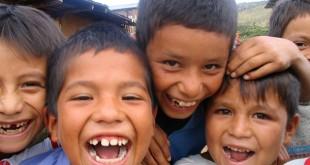 Niños de la ONG Entreculturas