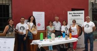 Voluntarios de la asociación en una de sus campañas de difusión / ABC
