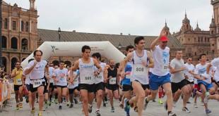 Corredores en la 1ª Carrera Solidaria de la Fundación Sehop en Sevilla / Foto: Ayuntamiento de Sevilla