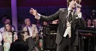 Manuel Lombo en su actuación benéfica en la Casa de Salinas / Juan Flores