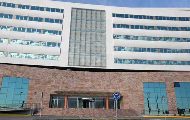 Fachada del hospital Nisa / Rocío Ruz
