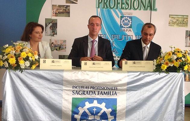 Colaboración entre el Ministerio de Interior y los centros SAFA-Loyola contra la violencia escolar