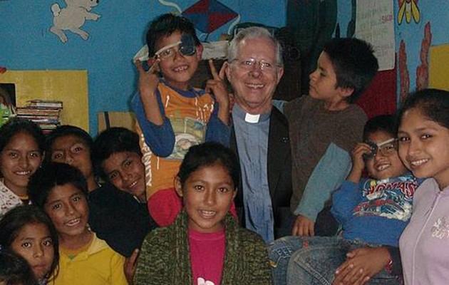 El padre Martín Clemens, delegado de Misiones, en Perú / ABC