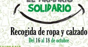 Los Arcos cuenta hasta este sábado con un «Armario Solidario» a beneficio de la ONGD Humana