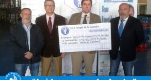 S.O.S. Ángel de la Guardia entrega 10.000 litros de leche al Banco de Alimentos