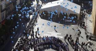 Acto en torno a Unicef en la Plaza de San Francisco / F.R.