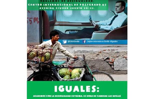 Debate «Hablemos de desigualdad» de Oxfam Intermón