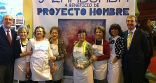 María José Santiago, estrella de la V Zambomba Solidaria de Proyecto Hombre