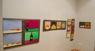 Exposición de pinturas infantiles a beneficio de las Hermanitas de la Cruz