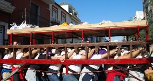 Chicotá Solidaria de la Hermandad de Oración en el Huerto durante 2013 / L.M.