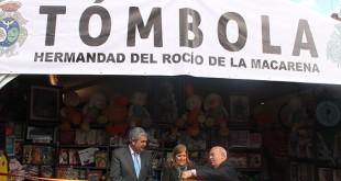 Inauguración de la tómbola benéfica / Hermandad del Rocío de la Macarena