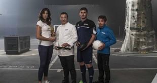 Gabriñe Muguruza, Joan Roca, Iker Casillas y  Carlos Soria / Foto: BBVA