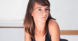 María Lebrato, directora y guionista de «Callar para que no exista» y fundadora de la compañía Dinamo Creación