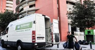 La Fundación cuenta con 186 contenedores en Sevilla / Foto: Humana