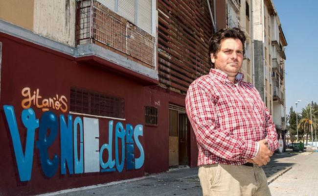 Pedro Molina, presidente de la asociación Los Vencedores