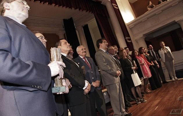 Premios Gota a Gota de Cajasol en 2014 / Juan Flores