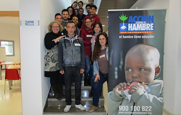 Participantes de Vives Emplea en la inauguración del programa / Acción contra el Hambre