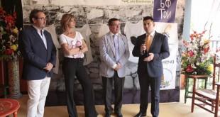 Luis Lastra, presidente de Infancia Sin Fronteras, Arantxa de Benito, Práxedes Sánchez, presidente del Círculo Mercantil, y Antonio Mengual, director territorial de la Fundación don Bosco. /Foto: Jose Galiana.