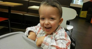 David Ramírez, de cinco años